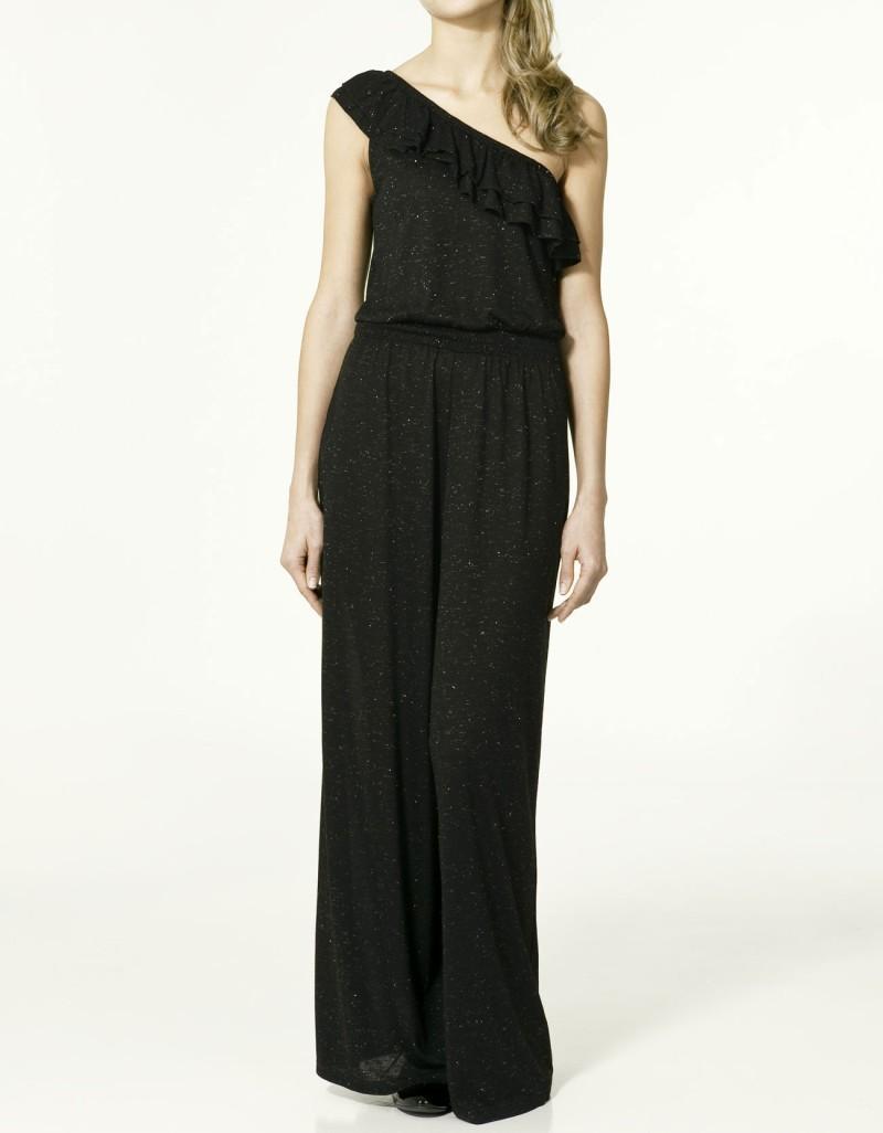 sukienka ZARA długa - z kolekcji wiosna-lato 2011