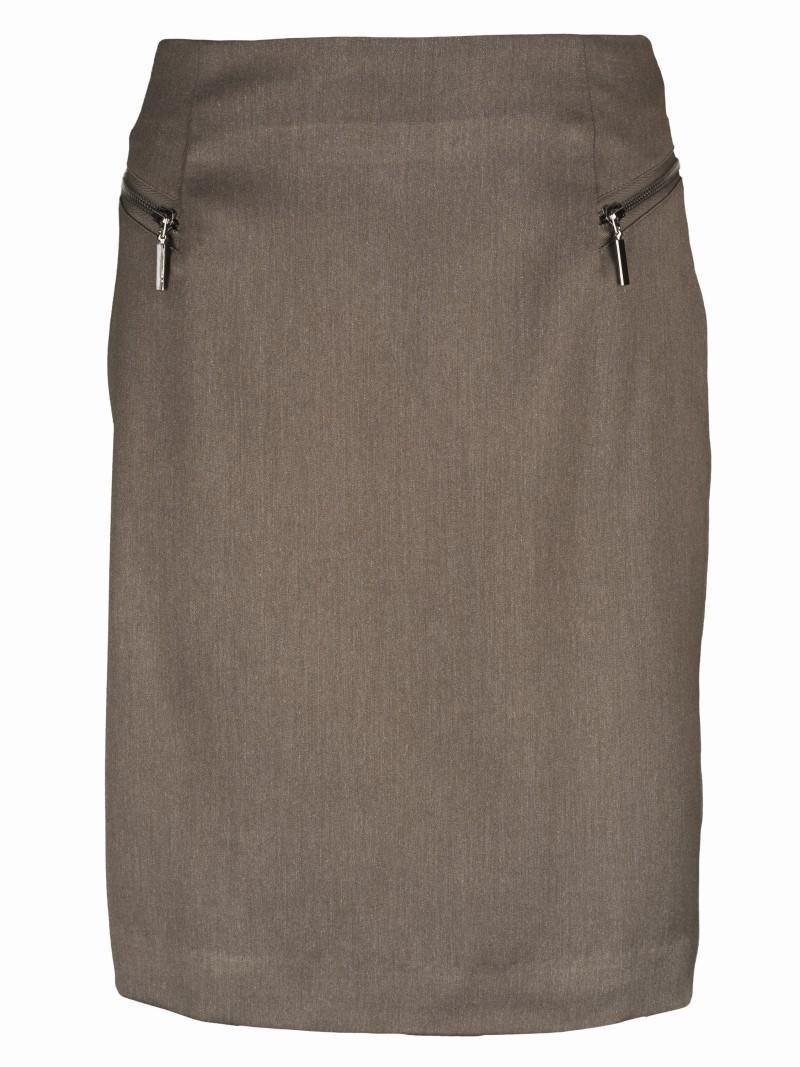brązowa spódnica Top Secret - moda 2011