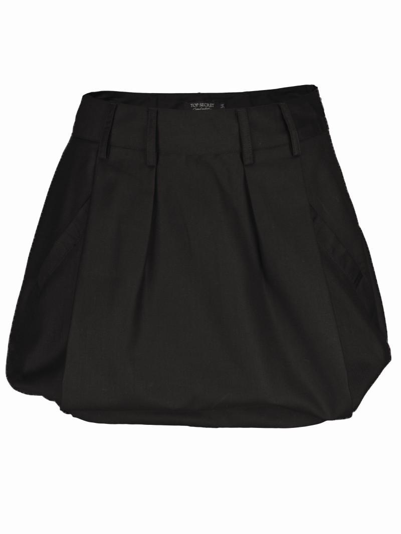 czarna spódnica Top Secret bombka - moda wiosna/lato