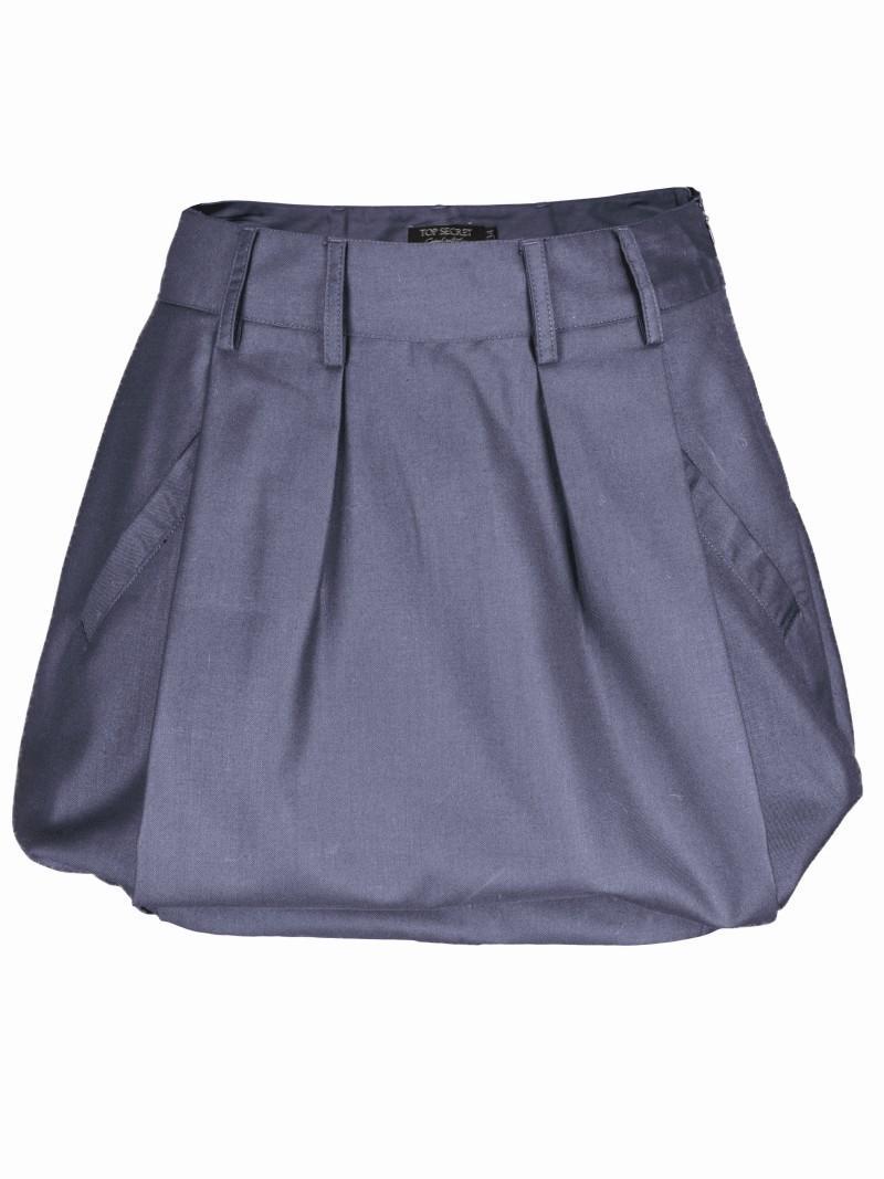 niebieska spódnica Top Secret bombka - z kolekcji wiosna-lato 2011