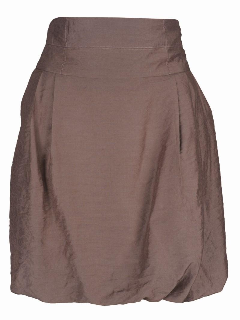 brązowa spódnica Top Secret bombka - wiosna-lato 2011
