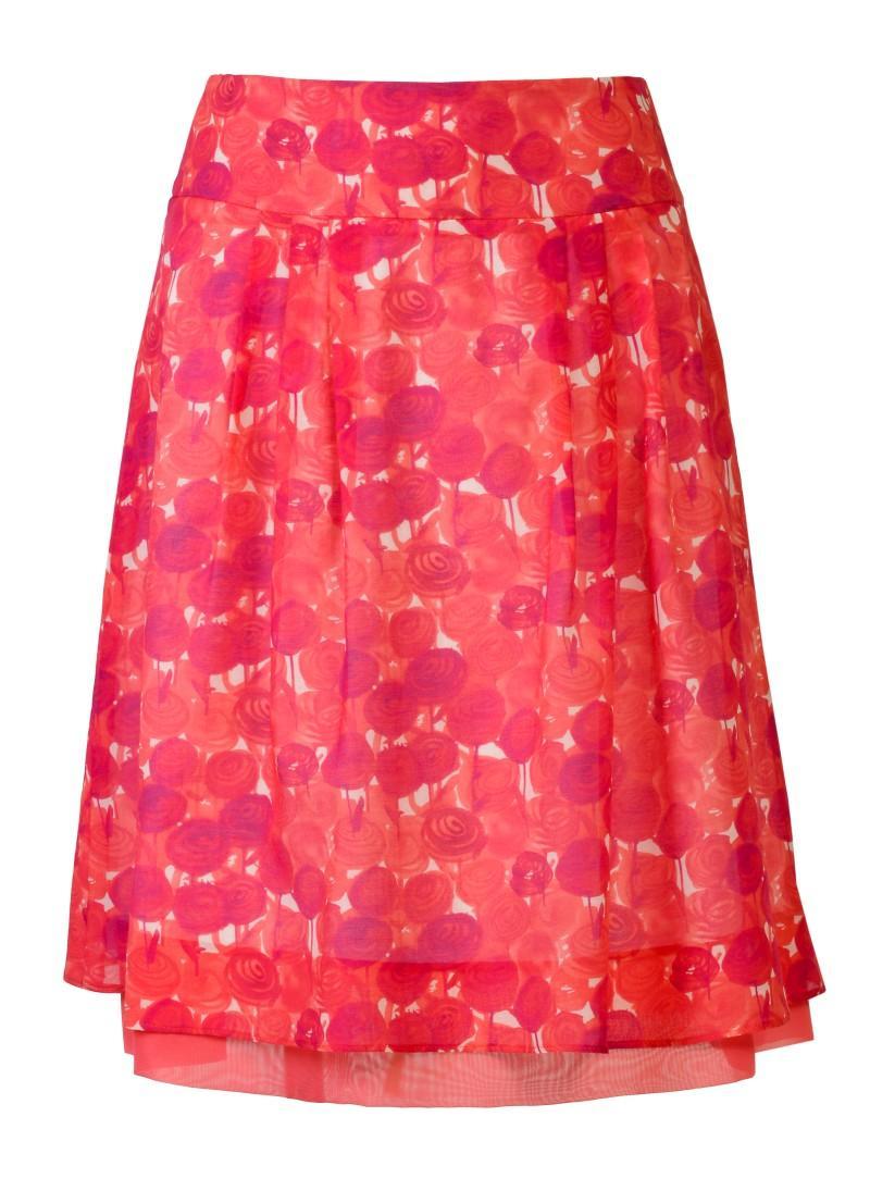 czerwona spódnica Molton - wiosna/lato 2011