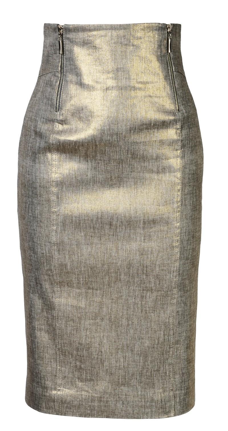 złota spódnica Molton - moda 2011