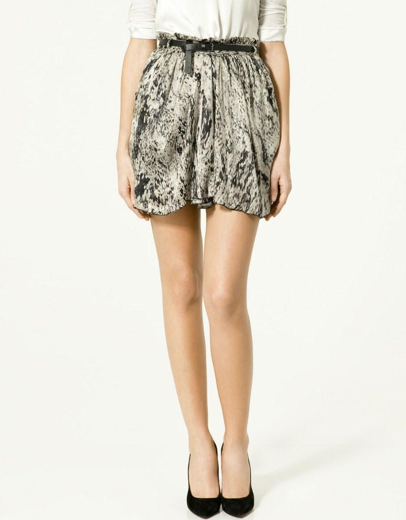 Spódnice Zara na wiosnę i lato 2011