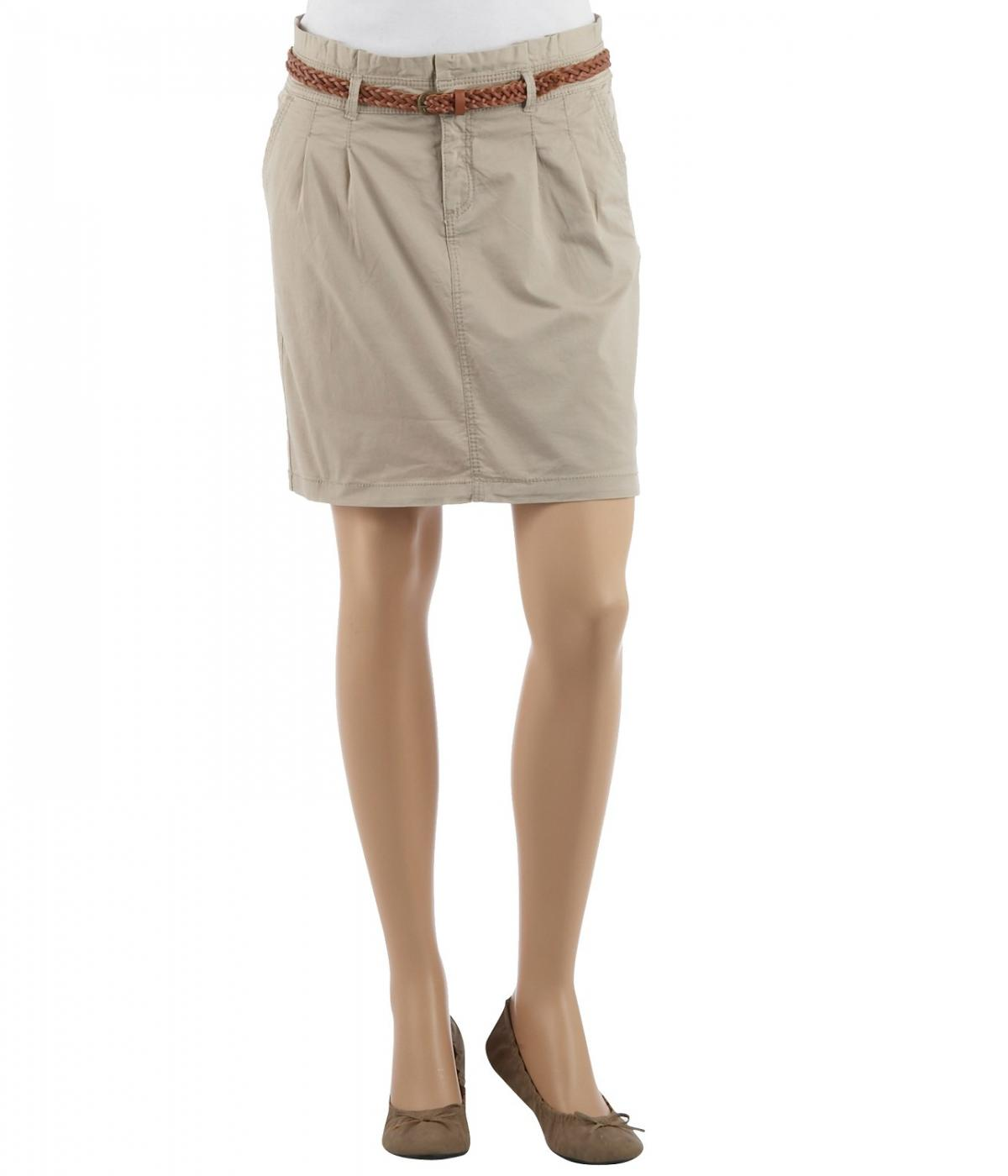 beżowa spódnica Camaieu - wiosna/lato 2013