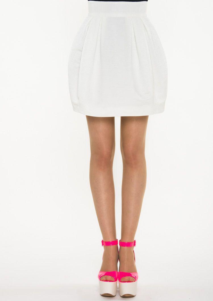 biała spódniczka Simple - wiosna i lato 2013