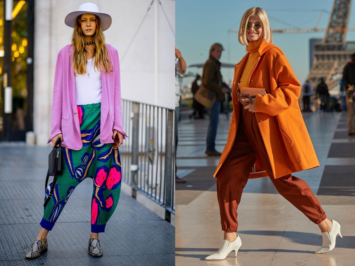 Spodnie alladynki 2019