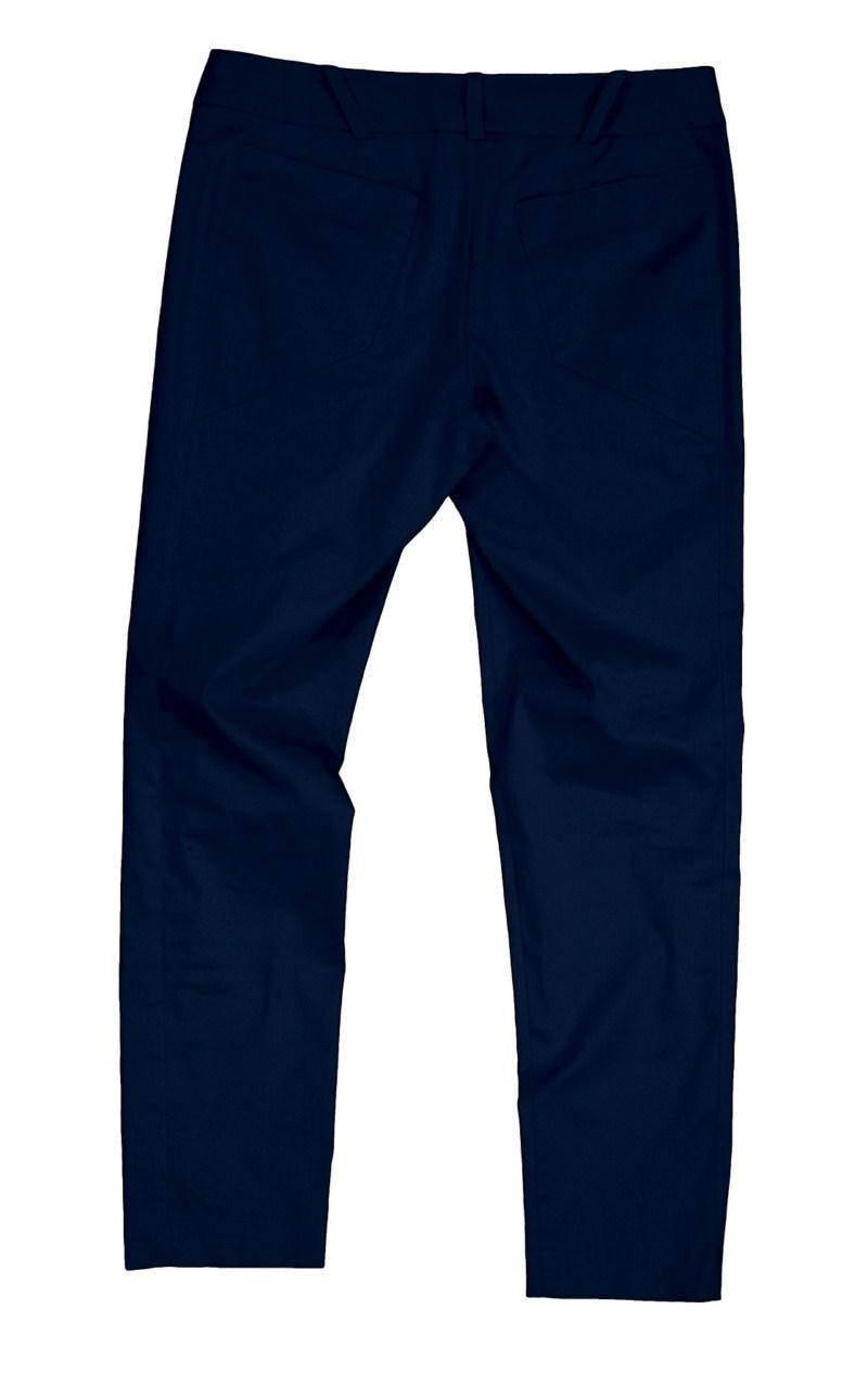 granatowe spodnie Bialcon - moda 2011