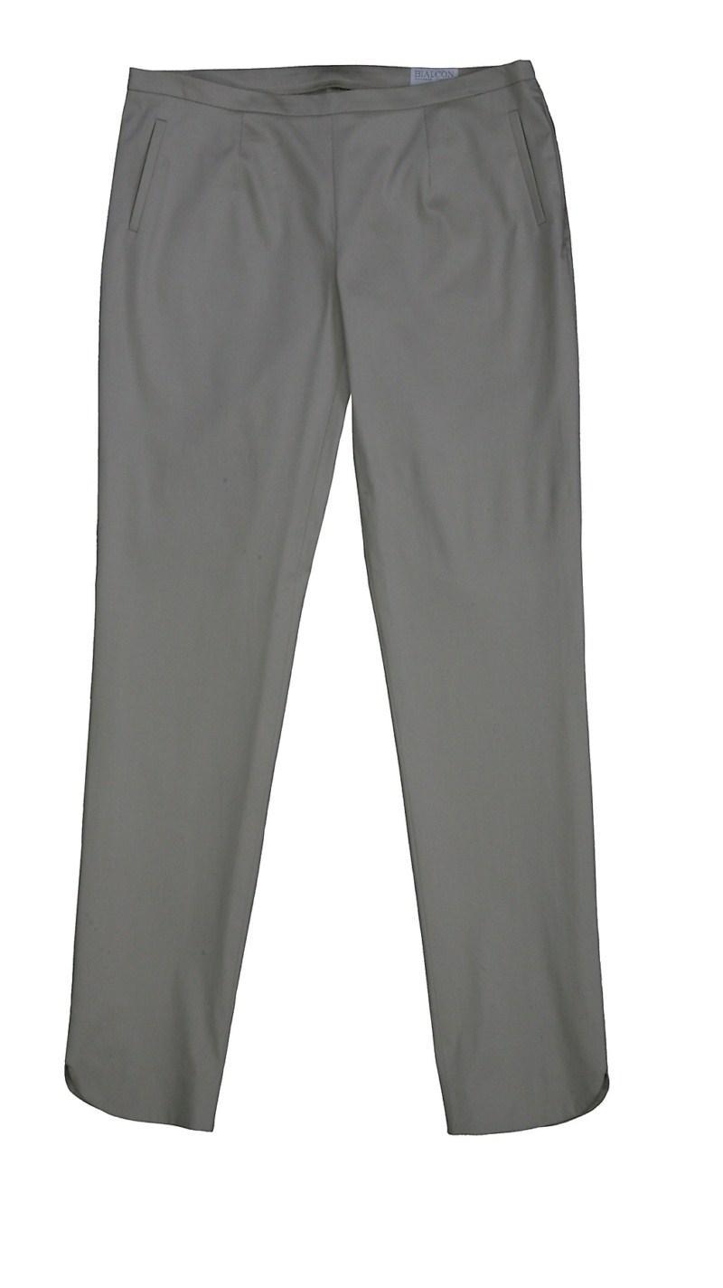 szare spodnie Bialcon - sezon wiosenno-letni
