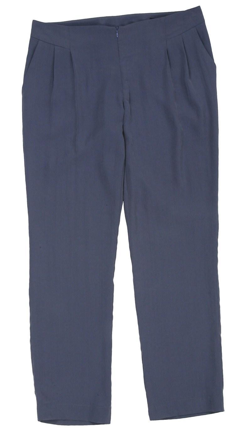 niebieskie spodnie Bialcon - moda wiosna/lato