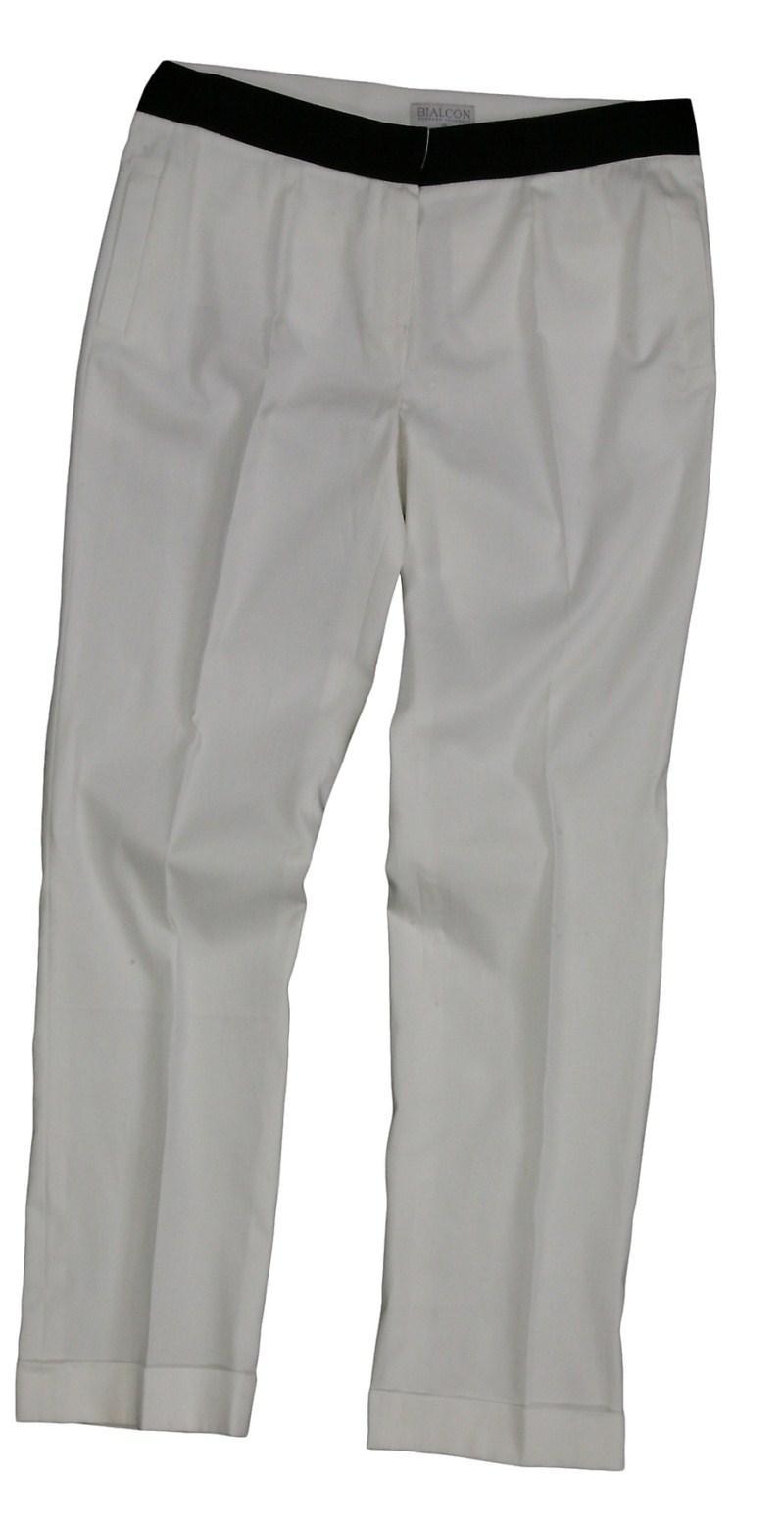 białe spodnie Bialcon - sezon wiosenno-letni