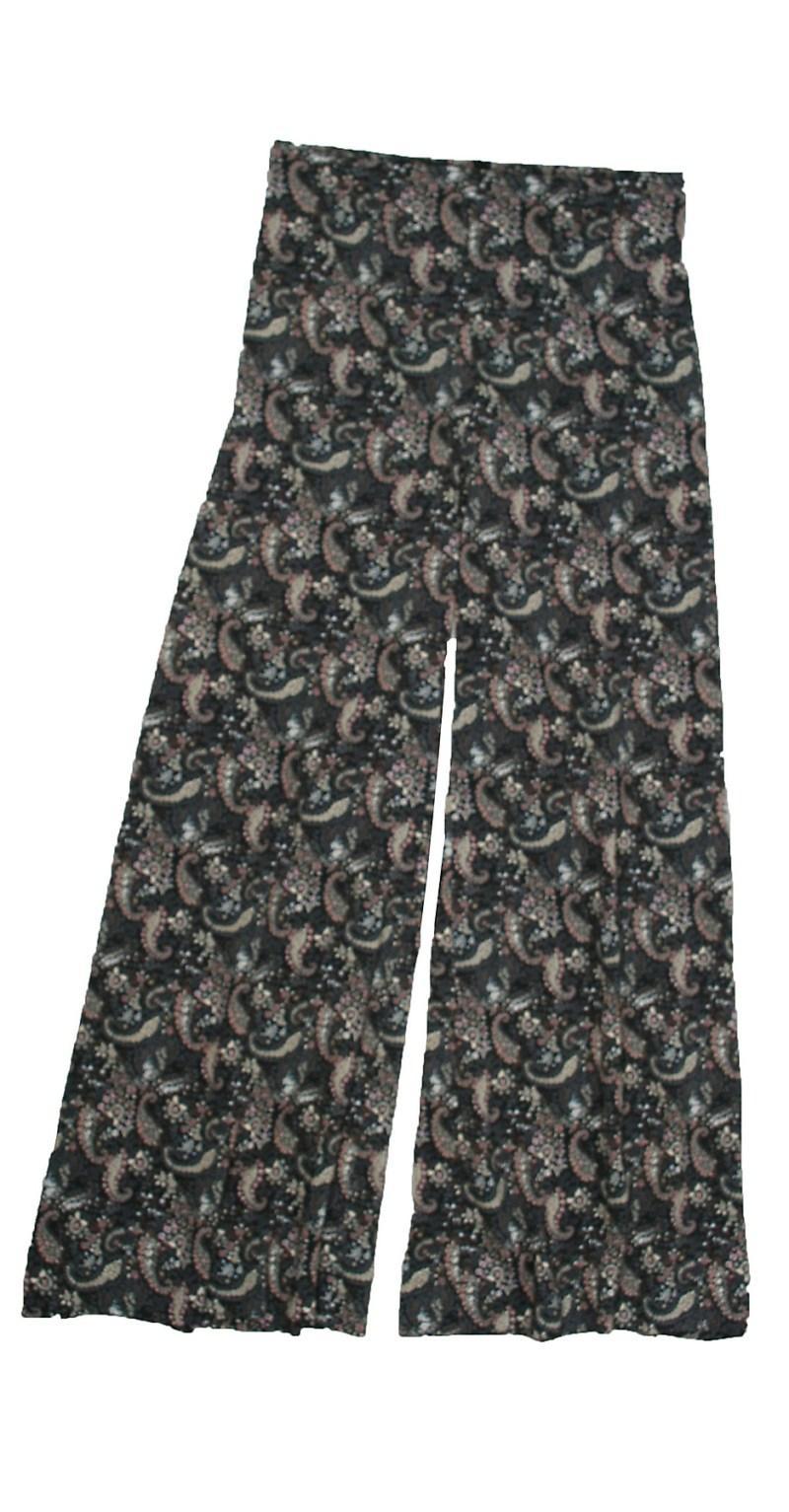 spodnie Bialcon we wzory dzwone - wiosna-lato 2011
