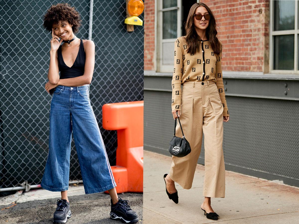 Spodnie culotte 2019