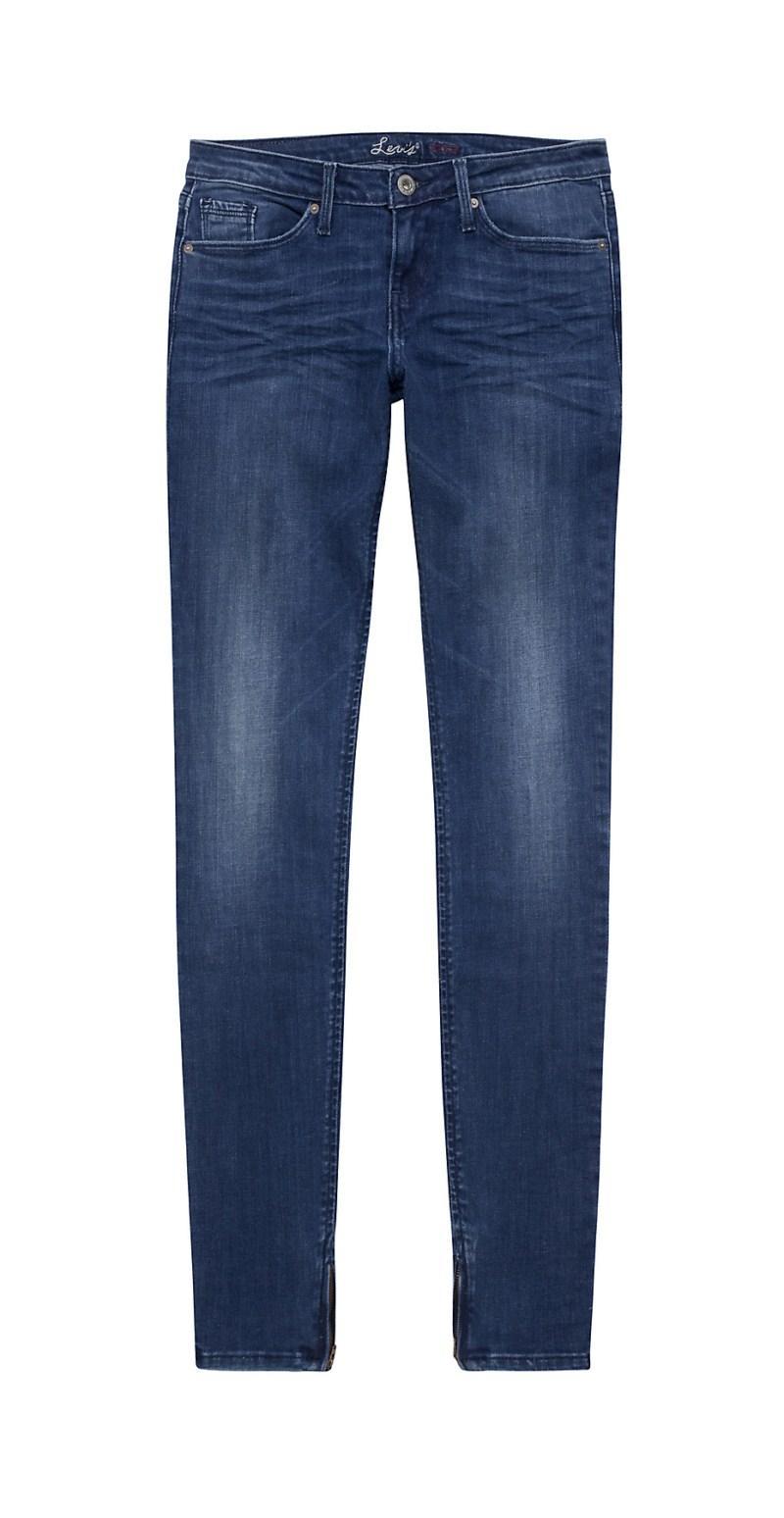 granatowe dżinsy Levis - wiosenna kolekcja