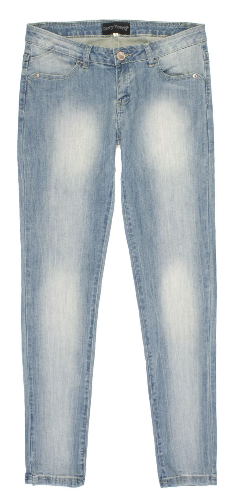 błękitne spodnie Carry dżinsowe - moda 2011