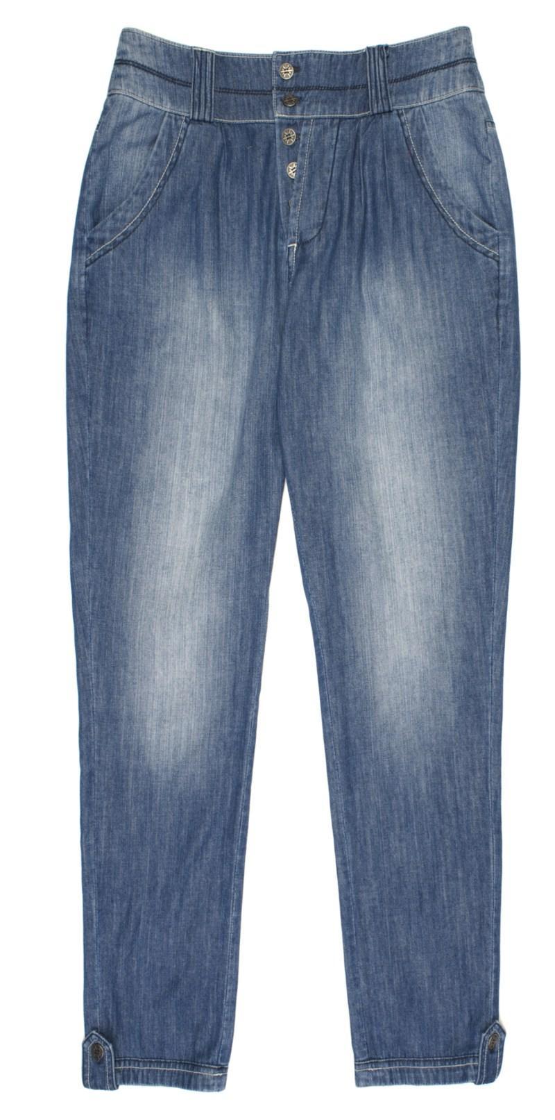 niebieskie spodnie Carry dżinsowe - wiosna-lato 2011