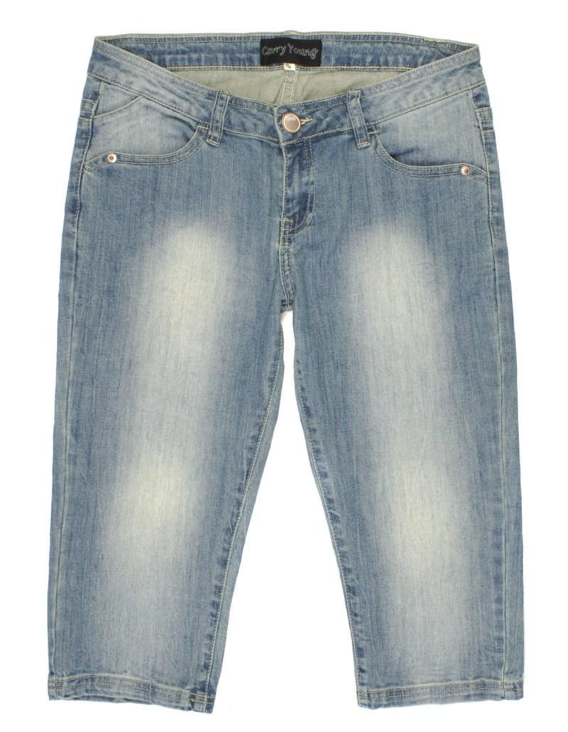 niebieskie spodnie Carry dżinsowe - z kolekcji wiosna-lato 2011