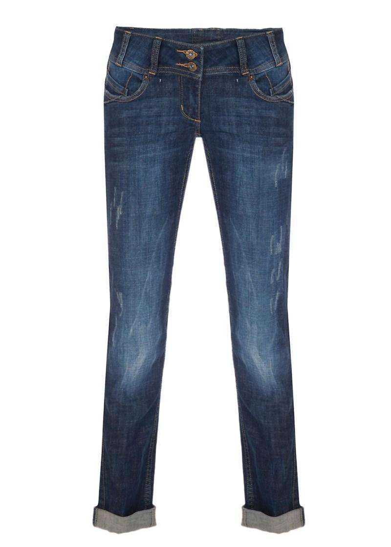 granatowe spodnie Tally Weijl dżinsowe - kolekcja wiosenno/letnia