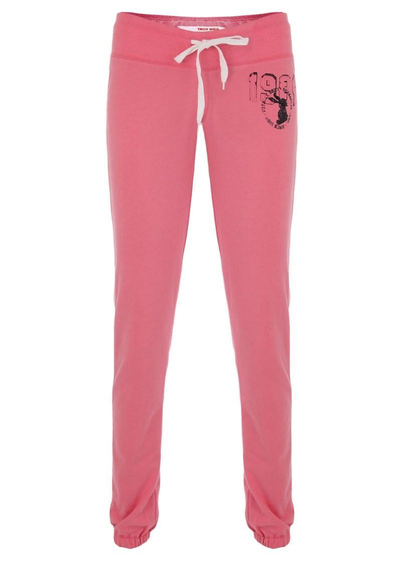 różowe spodnie Tally Weijl - wiosna-lato 2011
