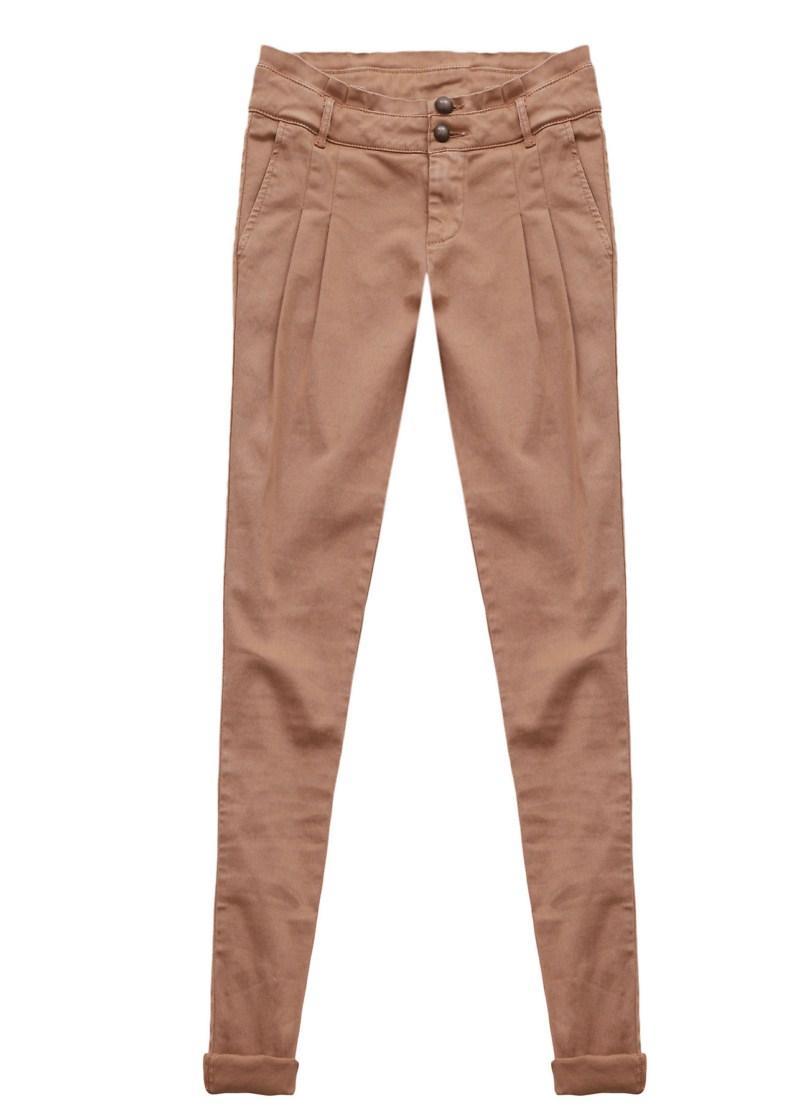 brązowe spodnie Tally Weijl - wiosna/lato 2011