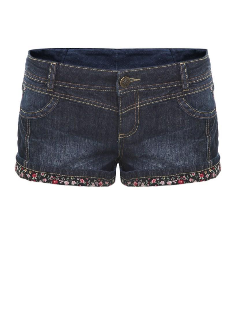granatowe szorty Tally Weijl dżinsowe - letnia kolekcja