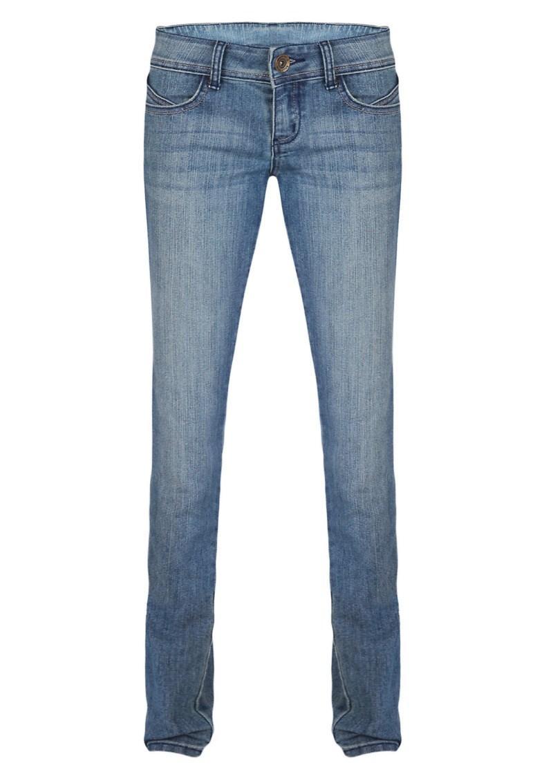 niebieskie spodnie Tally Weijl dżinsowe - wiosna/lato 2011