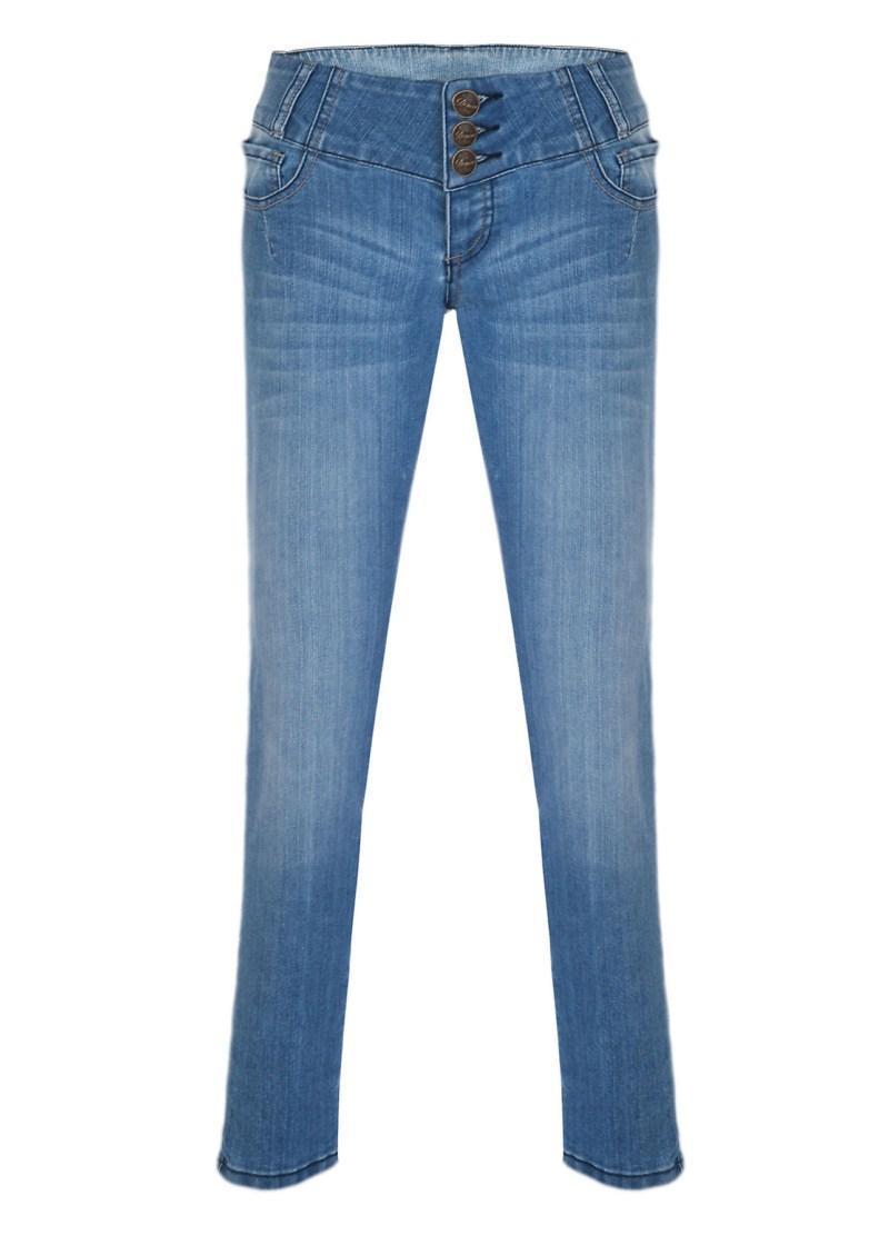 niebieskie spodnie Tally Weijl - wiosna/lato 2011