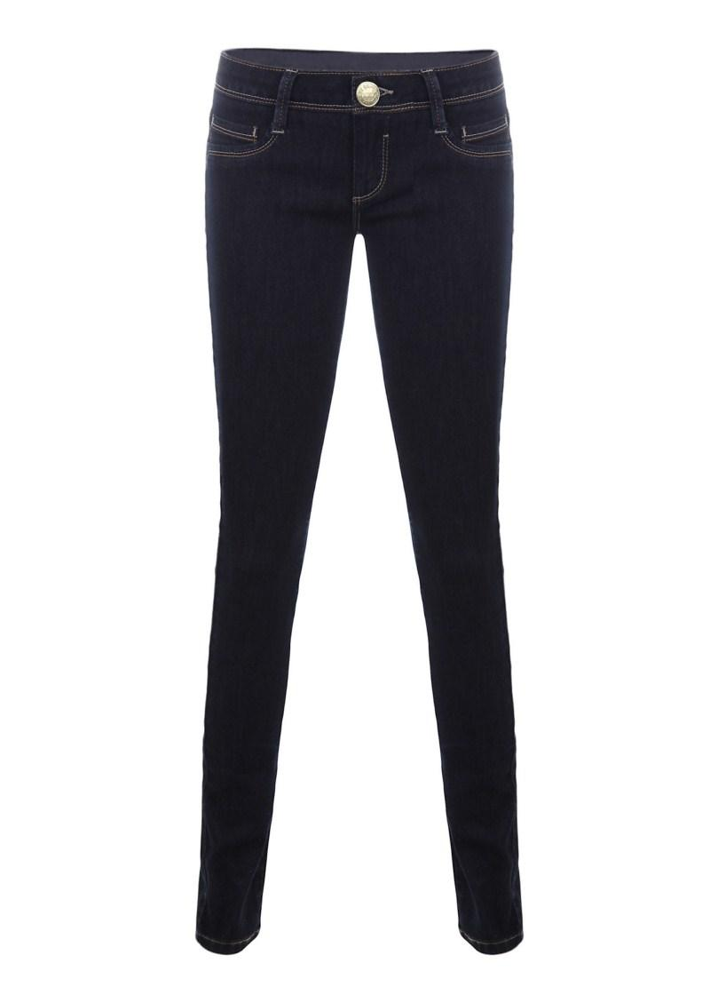 granatowe spodnie Tally Weijl dżinsowe - wiosna-lato 2011