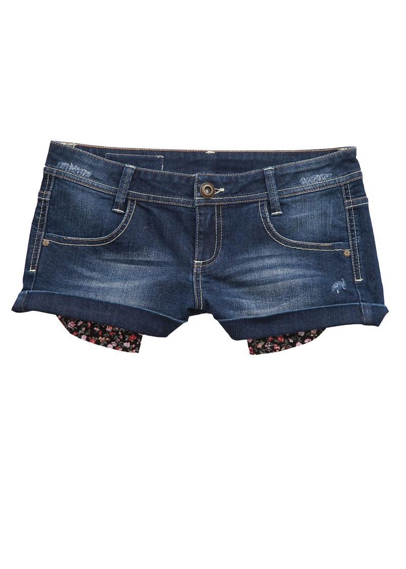 granatowe szorty Tally Weijl dżinsowe - kolekcja na lato