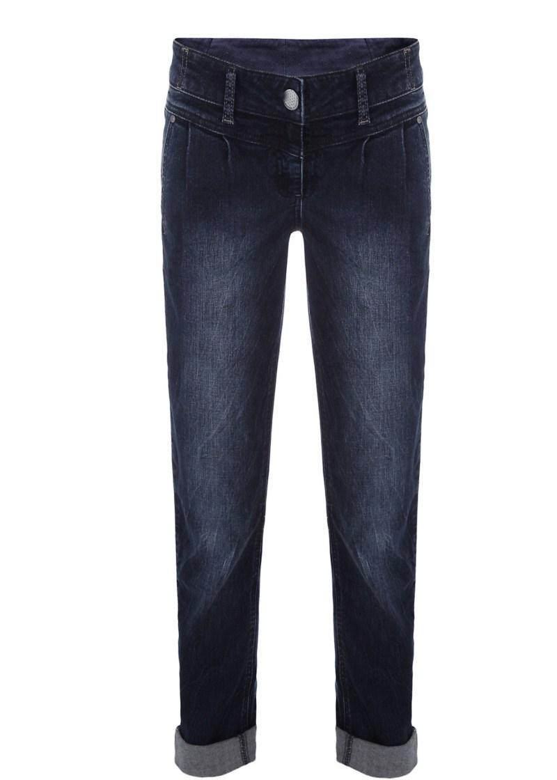 granatowe spodnie Tally Weijl dżinsowe - wiosna/lato 2011