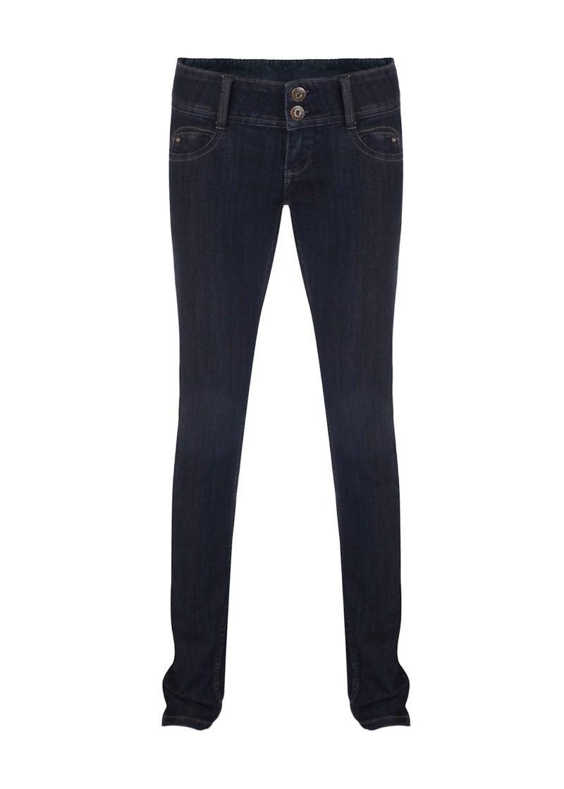 granatowe spodnie Tally Weijl dżinsowe - moda 2011