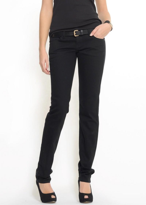 czarne jeansy Mango - wiosna 2011