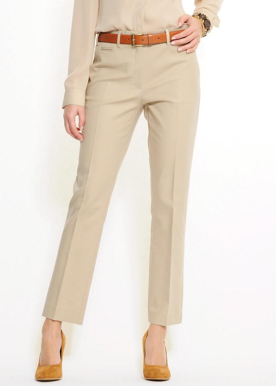 beżowe spodnie Mango - letnia kolekcja