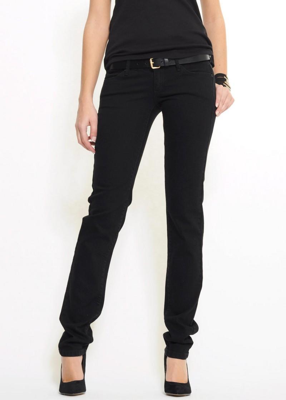 czarne spodnie Mango - wiosna 2011