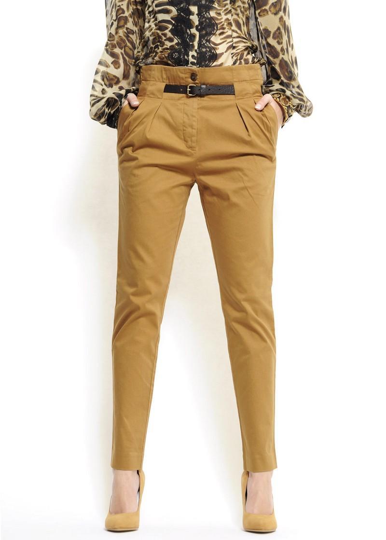 brązowe spodnie Mango - kolekcja wiosenno/letnia