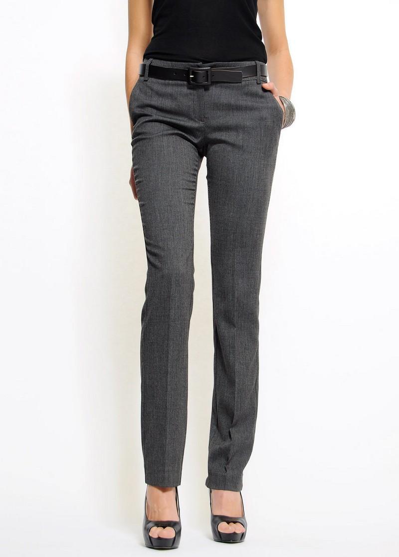 grafitowe spodnie Mango - moda 2011