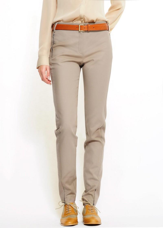 beżowe spodnie Mango - wiosenna kolekcja