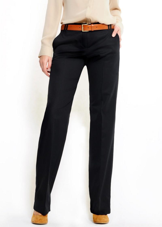 czarne spodnie Mango - kolekcja wiosenna
