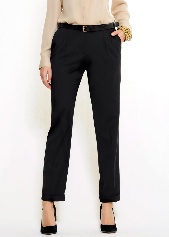 czarne spodnie Mango - trendy wiosna-lato
