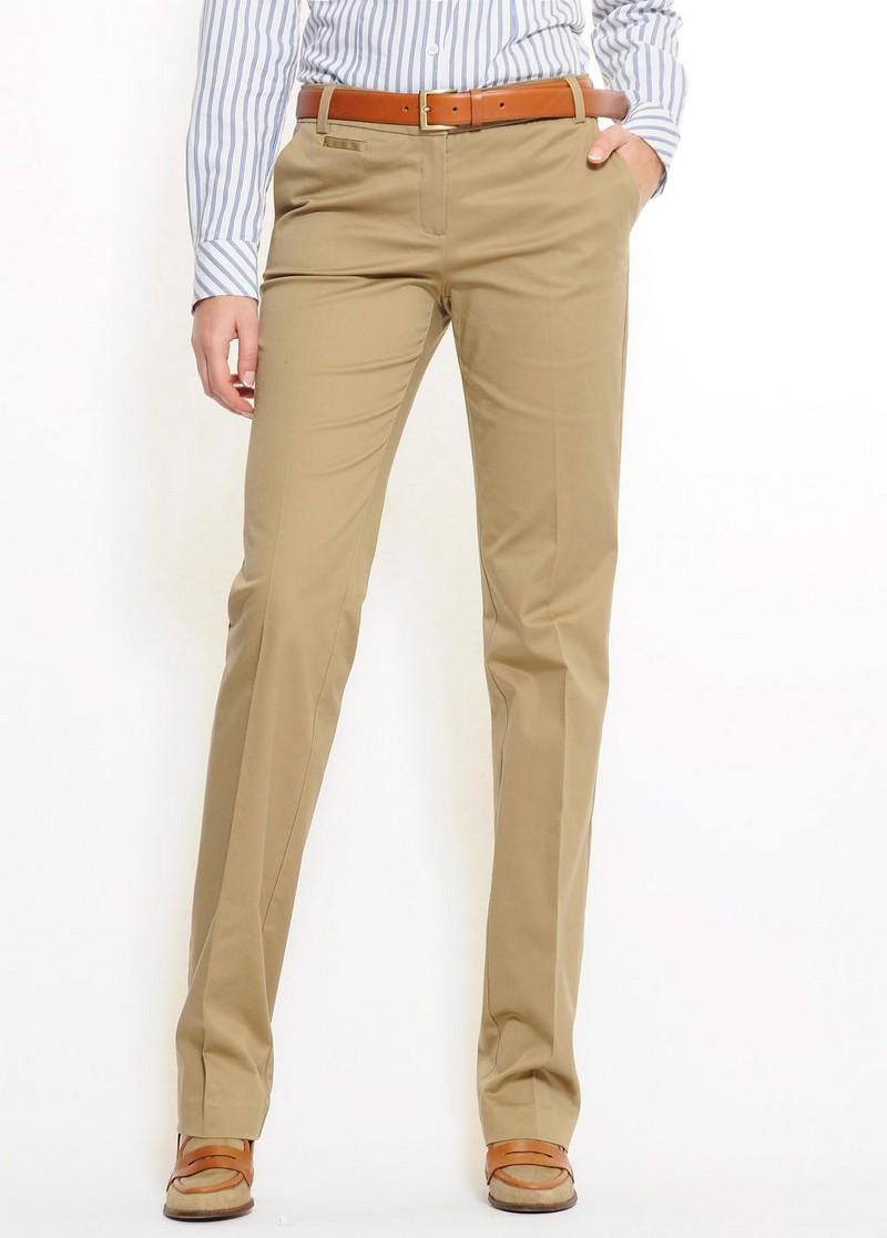 beżowe spodnie Mango - moda wiosna/lato