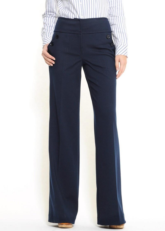 granatowe spodnie Mango szwedy - kolekcja wiosenna