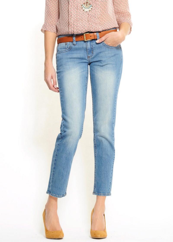 błękitne dżinsy Mango - letnia kolekcja