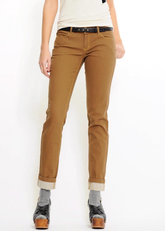 brązowe spodnie Mango - moda 2011