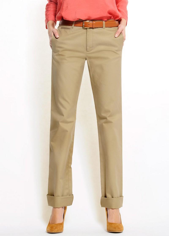 beżowe spodnie Mango - z kolekcji wiosna-lato 2011