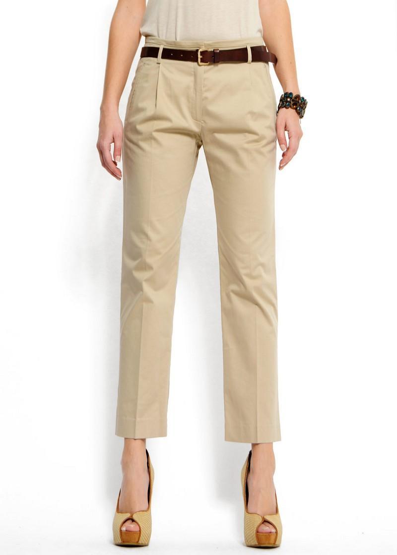 beżowe spodnie Mango - moda 2011