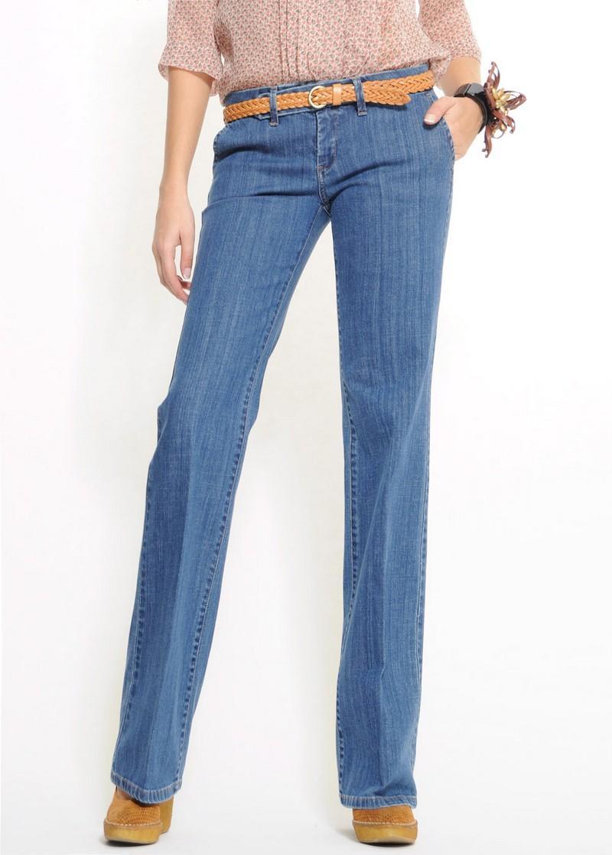 niebieskie dżinsy Mango - z kolekcji wiosna-lato 2011
