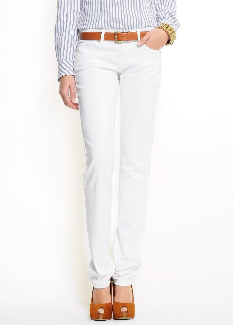 białe spodnie Mango - lato 2011