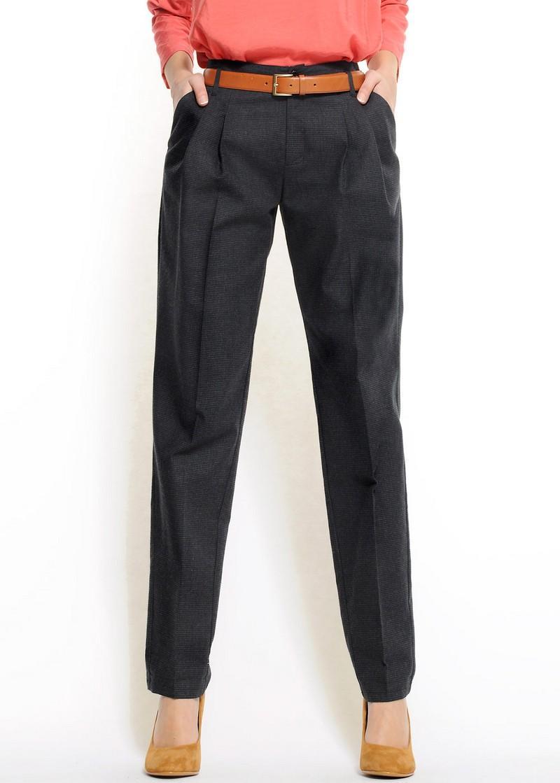 czarne spodnie Mango - z kolekcji wiosna-lato 2011