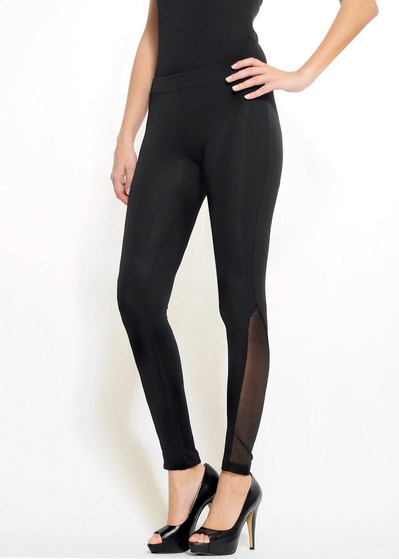czarne legginsy Mango - moda wiosna/lato