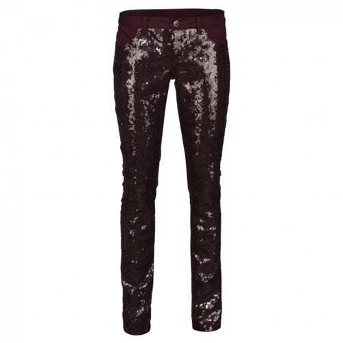 Cekinowe spodnie, New Yorker